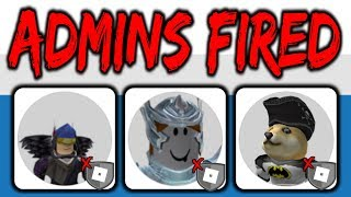 You won't believe why these 3 roblox admins got fired!