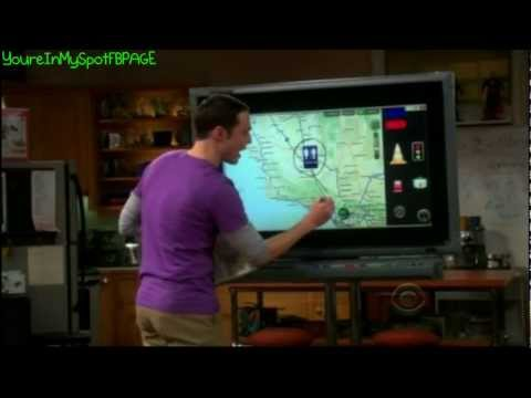 Planning The Road Trip - The Big Bang Theory