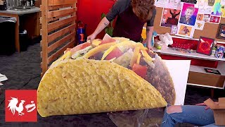 Chad Takes the GIANT Taco | RT Inbox