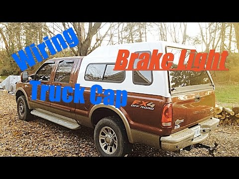 how to wire a truck cap third brake light youtube rh youtube com
