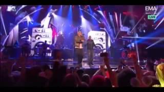 ▶ Eminem Says 100 Words in 15 Seconds Rap God Live MTV EMA Awards 2013