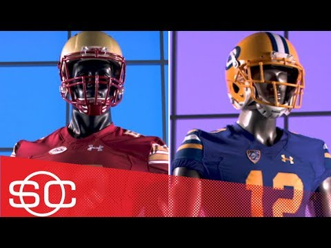 College football uniforms honoring legends in Week 7 - Gear Up | SportsCenter