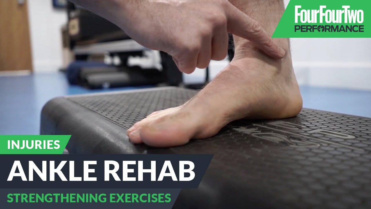 f0585d4c252 How to rehab an injured ankle - YouTube