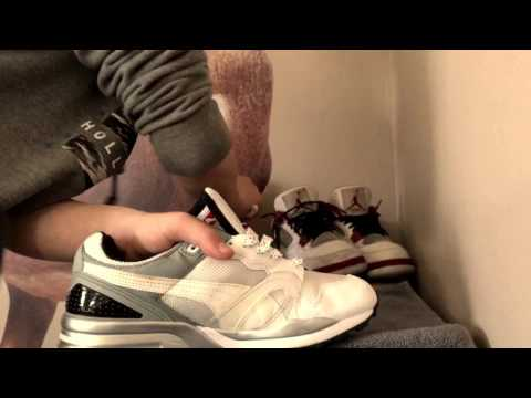 How to clean white mesh/cloth sneakers and laces!