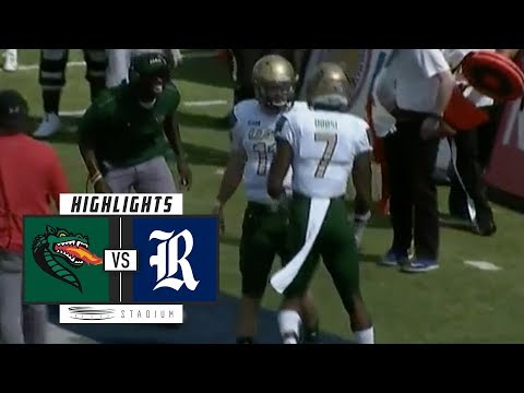 UAB vs. Rice Football Highlights (2018) | Stadium