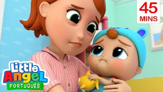 Mamãe, Estou Dódoi! 🤒 E Muito Mais! | Canal do Joãozinho - Little Angel Português