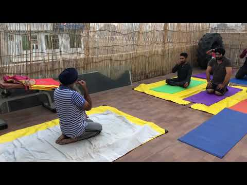 Morning yoga classes at No Limits Fitness gym
