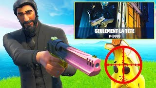 IT IS TO BE a HUMAIN AIMBOT IN THE NEW MODE 'ONLY THE HEAD'' ON FORTNITE!