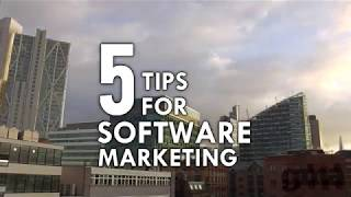 5 Tips for Software Marketing in Under 2 Minutes