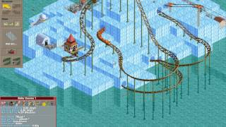 Rollercoaster Tycoon Loopy Landscapes #2 (Iceberg Islands: A cool park)