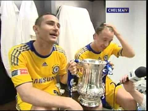 Chelsea Fa Cup Winners celebration 2009