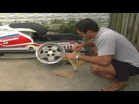 Car Maintenance : Cleaning Pitted Aluminum Rims