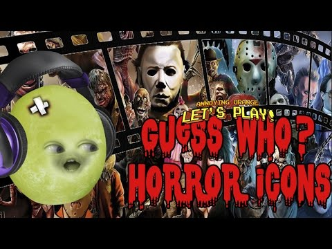 Gaming Grape Plays - Guess Who? HORROR ICONS!