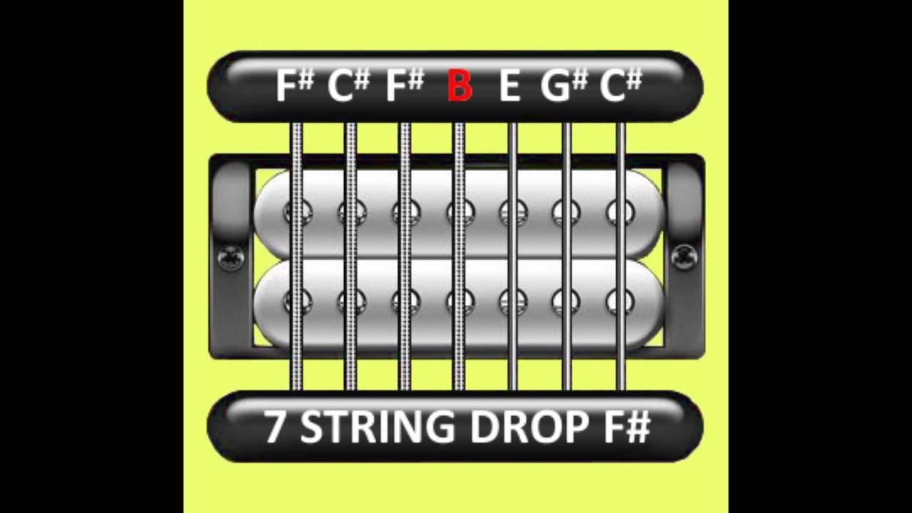 perfect guitar tuner 7 string drop f gb f c f b e g c youtube. Black Bedroom Furniture Sets. Home Design Ideas