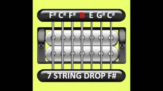 Perfect Guitar Tuner (7 String Drop F# / Gb)