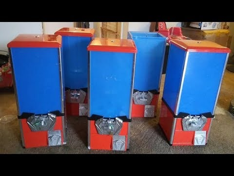 Buying 48 Toy Vending Machines From Facebook Marketplace
