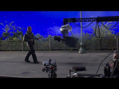Как снимали фильм Терминатор 5 : Генезис.