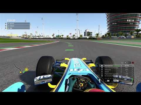 F1 2017 - Bahrain 25% - Renault R26 [HD]