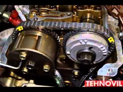 Замена цепи ГРМ на Nissan Almera в Техновиле