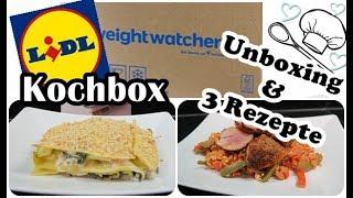 Lidl Kochbox/WW-Box/Rezepte/Mein Fazit/Mel´s Kanal