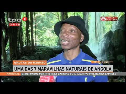 Grutas do Nzenzo uma das 7 maravilhas naturais de Angola