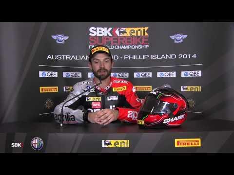 2014 WSBK - Round 1 - Australia - Race 2 - Sylvain Guintoli Interview