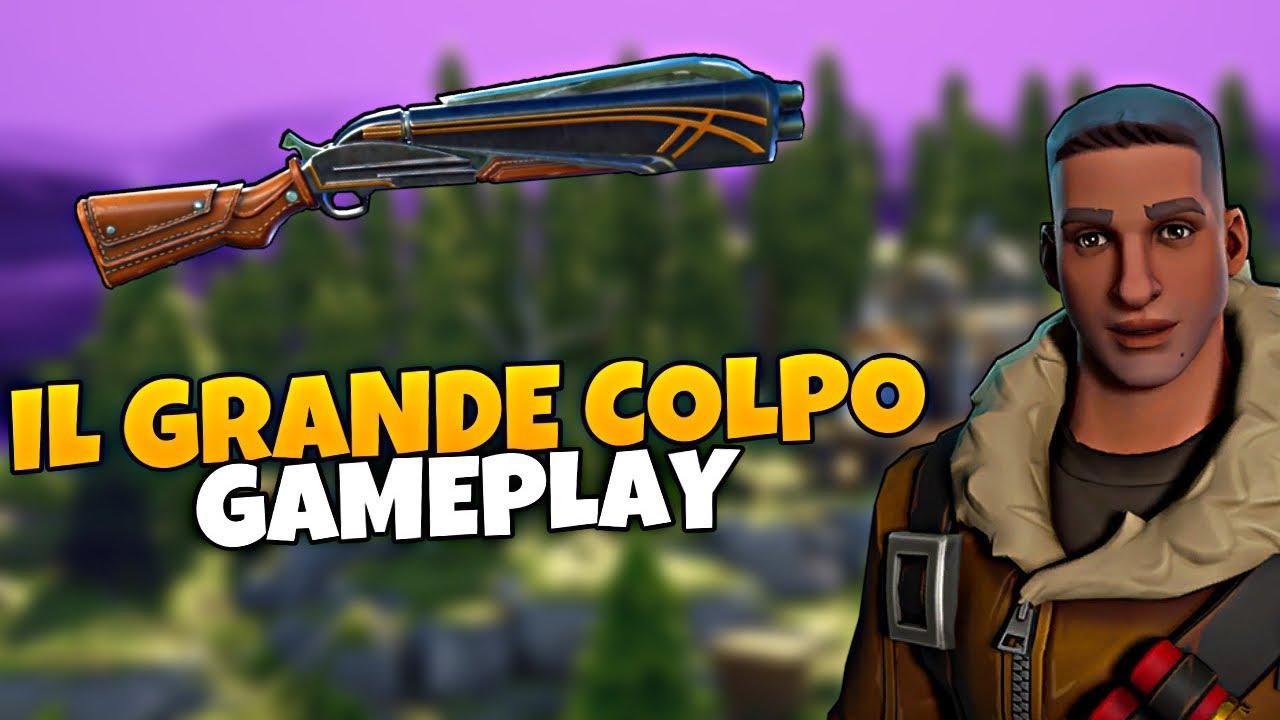 IL GRANDE COLPO! (Gameplay) | Fortnite - Salva il Mondo