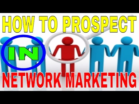 HOW TO PROSPECT IN DIRECT SELLING (ENGLISH) | MLM | NETWORK MARKETING | DXN
