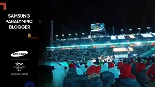 Christiane Putzich | The Closing Ceremony 4 | Samsung Paralympic Blogger | PyeongChang 2018
