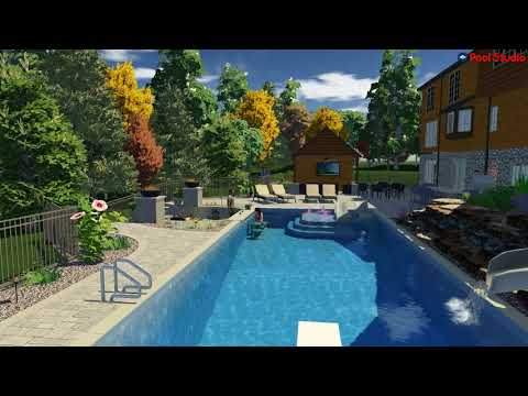 Mequon, WI Backyard Renovation Concept Video