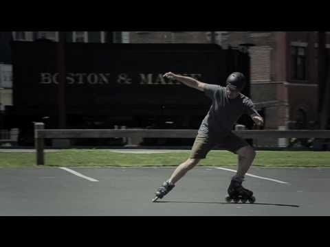 Hockey stop on inline skates | Doovi
