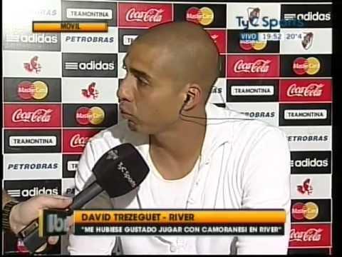 David Trezeguet: Entrevista en Líbero 07/05/12