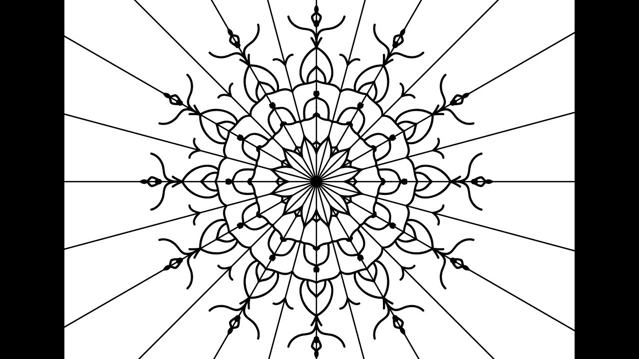 How to draw a Lace Pattern in Adobe Illustrator Cc
