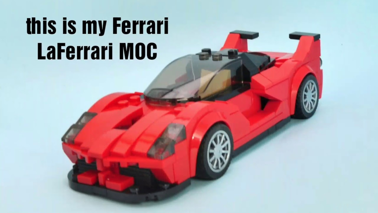Lego Ferrari LaFerrari