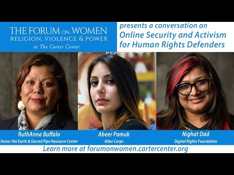Online Security for Human Rights Defenders