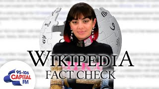 Charli XCX Corrects Her Own Wikipedia Page | Wikipedia Fact Check | Capital