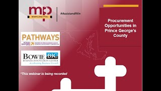 Procurement Opportunities in Prince George's County
