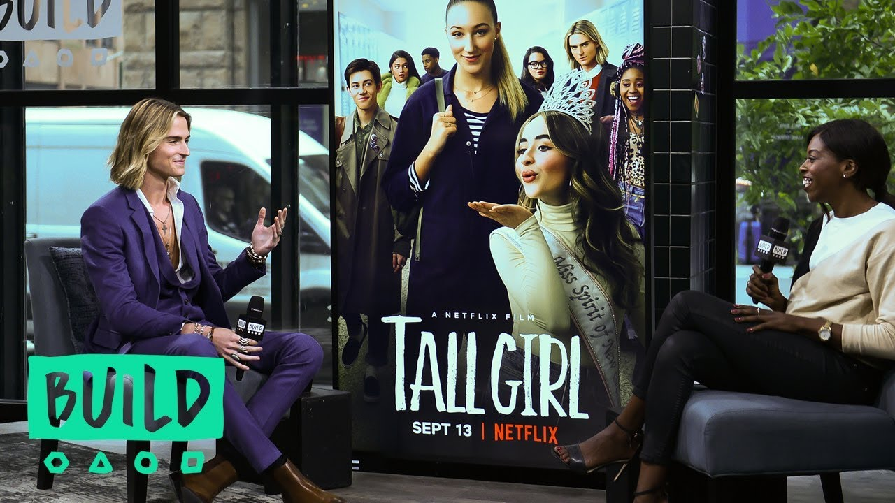 Luke Eisner Hopes Netflix's 'Tall Girl' Will Help You Be Confident In Who You Are  EXCLUSIVE