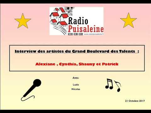 Interview des artistes du Grand Boulevard Des Talents - 21 Octobre 2017