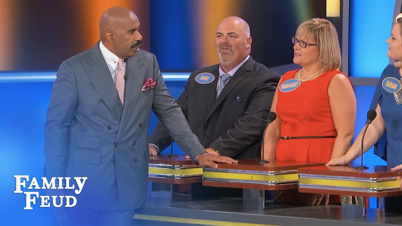 Margaret reveals her BEST DISH... | Family Feud - YouTube