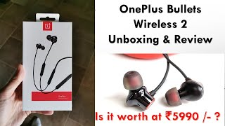 OnePlus Bullets Wireless v2 - Overpriced or Worth it at ₹5990 ? aptX HD, 14 Hrs Backup, Warp Charge