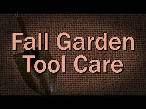 Fall Garden Tool Care - Family Plot