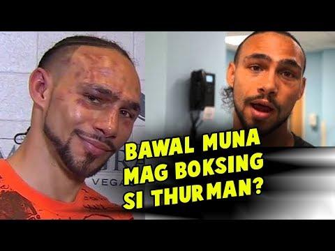 Dahil Sa INJURY Natamo Kay Pacquiao THURMAN BAWAL Muna Sa BOKSING?