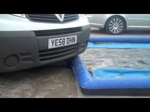 inflatable car wash valeting pad demo by morclean youtube. Black Bedroom Furniture Sets. Home Design Ideas
