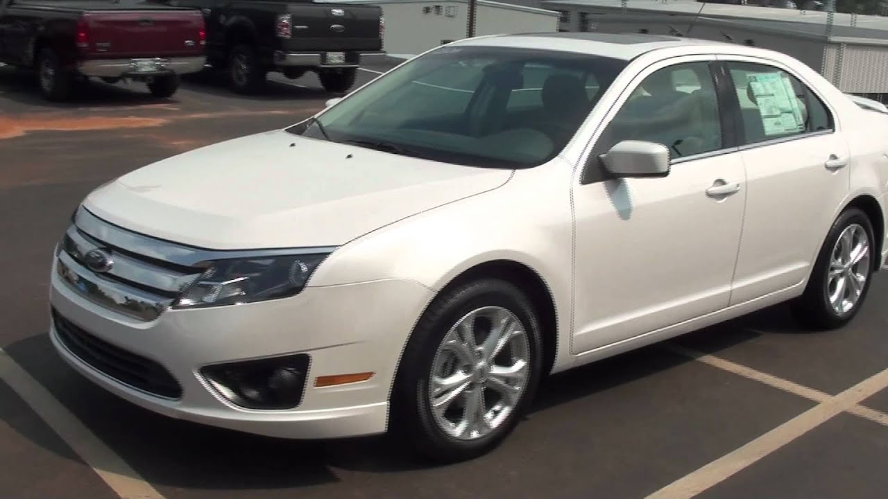 2010 Ford Fusion For Sale >> FOR SALE NEW 2012 FORD FUSION SE !! STK# 20011 - YouTube