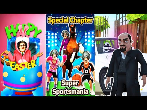 Scary teacher 3d - New Special Chapter Super Sportsmania, Happy Easter