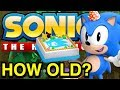 Official Age of Sonic the Hedgehog Characters - Sonic Discussion - NewSuperChris