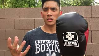 10 Ounce DiNardo Pro Fight Boxing Glove Review