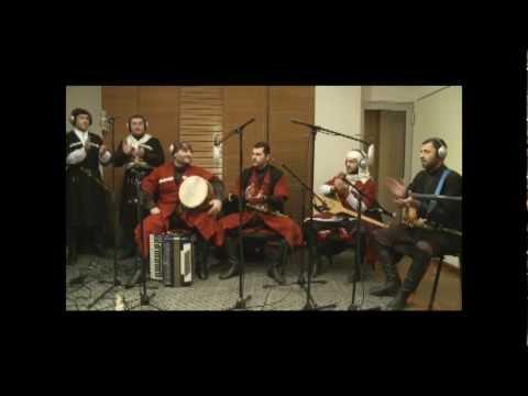Garekakhuri Sacekvao - by Chveneburebi, Riga, Latvia. Live - Radio SWH+