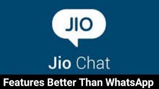Jio Chat Features Better than WhatsApp    kya jio chat WhatsApp se Acha hai    Jio chat Channel
